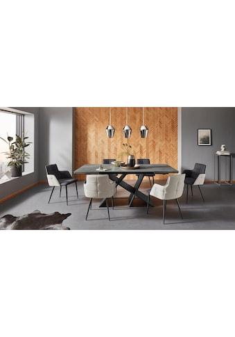Places of Style Esstisch »EMME-A«, mit einer besonderen Keramiktischplatte und schönem... kaufen