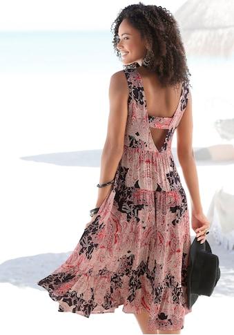 LASCANA Strandkleid, mit tiefem Rückenausschnitt kaufen