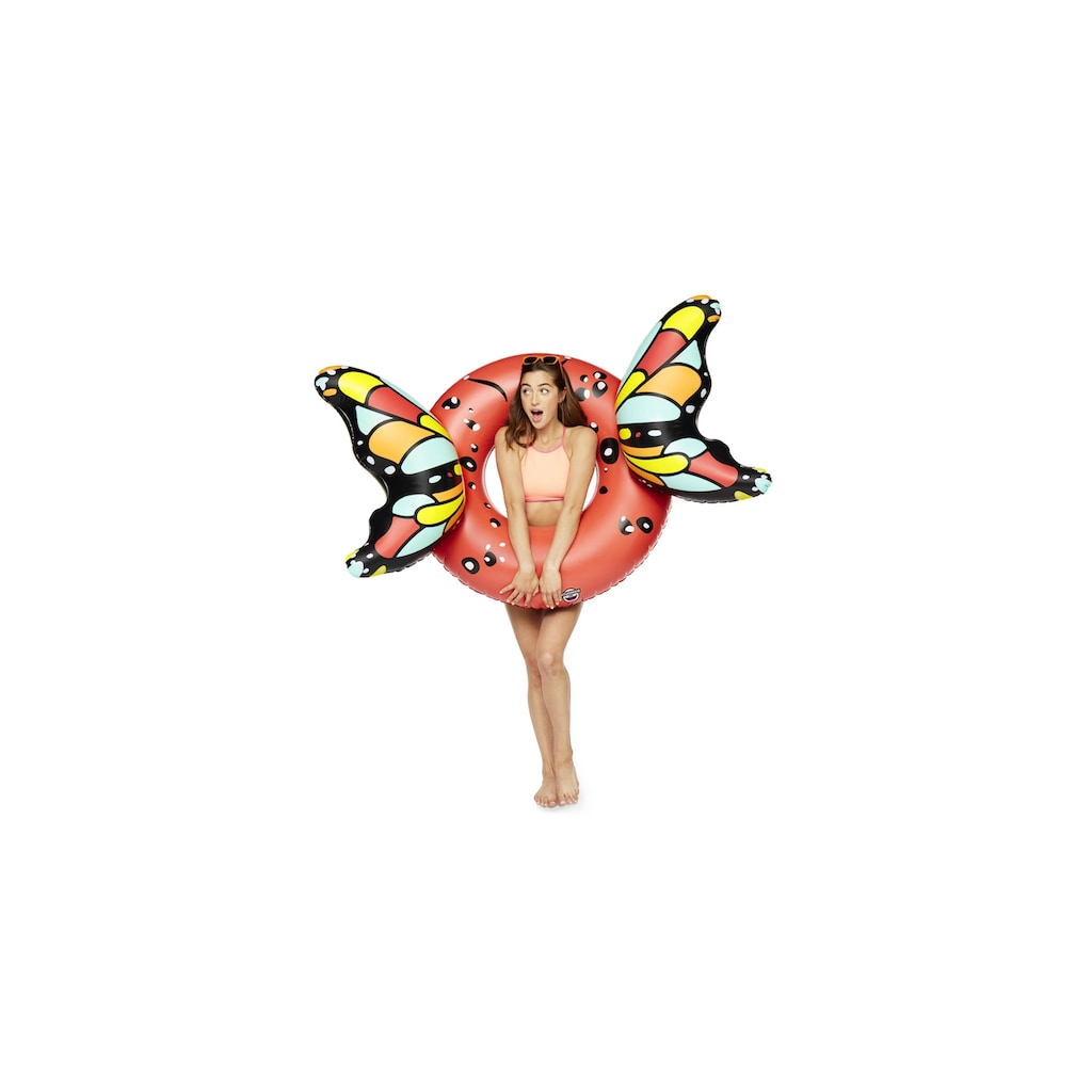 Schwimmring »Schmetterling rot«