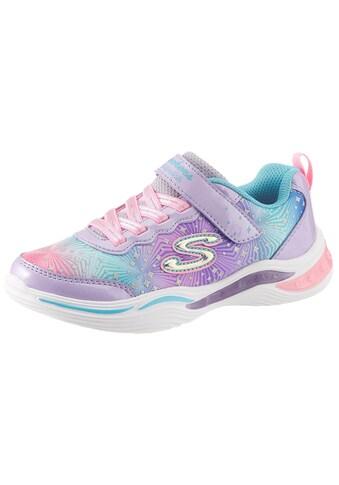 Skechers Kids Sneaker »Blinkschuh Power Petals«, mit Glitzer kaufen