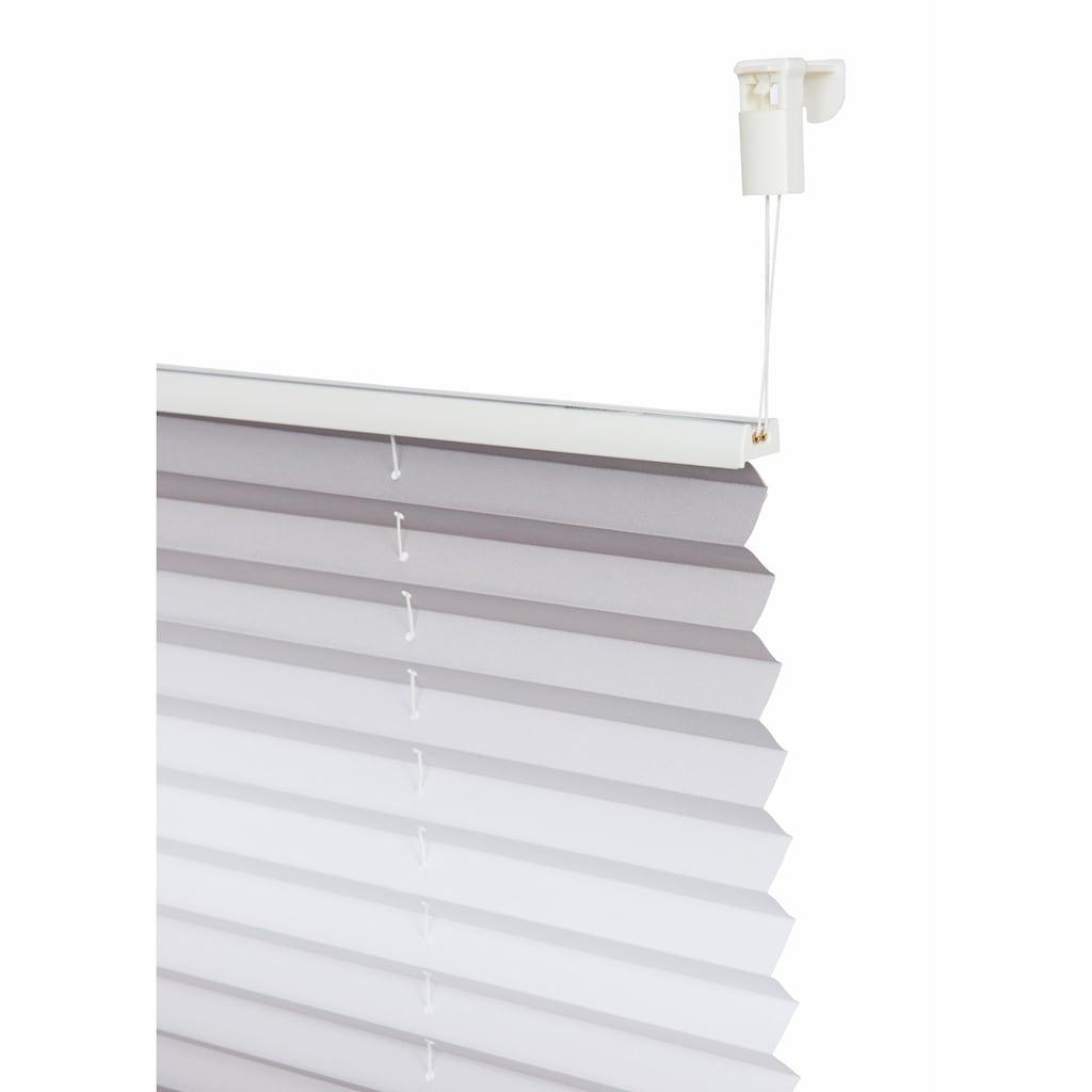 my home Plissee »Savona«, Lichtschutz, ohne Bohren, verspannt, im Fixmass