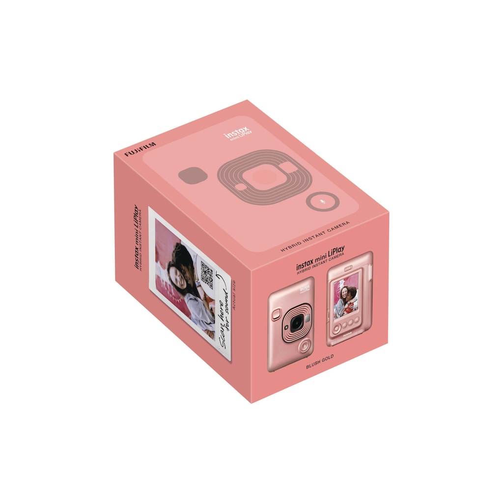 FUJIFILM Sofortbildkamera »Fotokamera Instax Mini LiPlay«