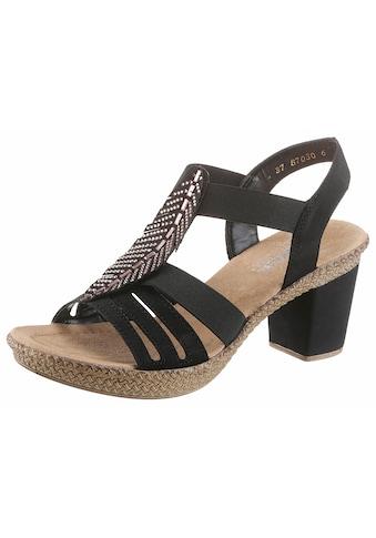 Rieker Sandalette, mit Strass-Steinchen verziert kaufen