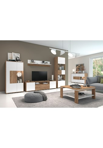 Places of Style Wandregal »Stela«, weiss UV-lackierte Front, Breite: 139 cm kaufen