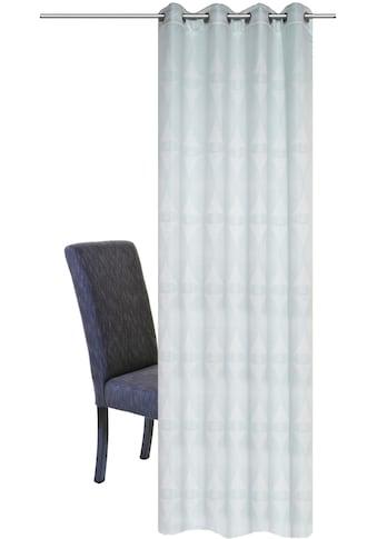 HOME WOHNIDEEN Vorhang »GERD«, HxB: 245x140, Schwerer Ösenschal mit Grafikmotiv kaufen