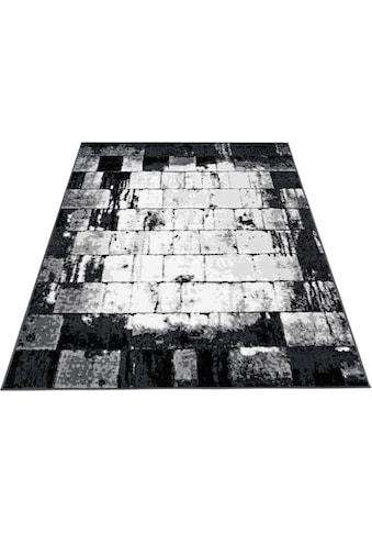 Bruno Banani Teppich »Cohen«, rechteckig, 10 mm Höhe, weiche Haptik, Wohnzimmer kaufen