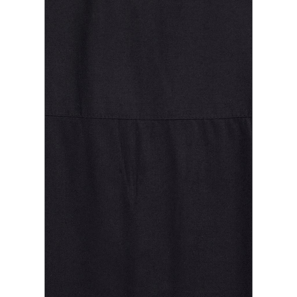Boysen's Hemdbluse, im Oversized-Style mit Ballonsaum