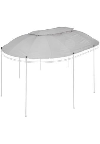 KONIFERA Ersatzdach für Pavillon »Oval«, BxL: 350x500 cm, grau kaufen