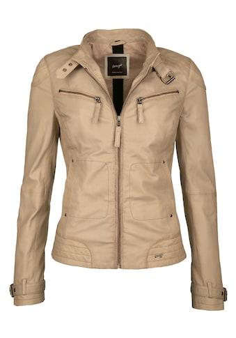 Maze Lederjacke mit zwei Brusttaschen kaufen