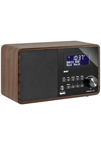 DAB Radio, Imperial, »Dabman 100 Braun« kaufen