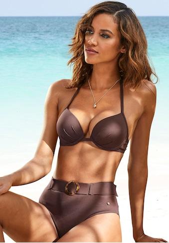 s.Oliver Push-Up-Bikini-Top »Rome«, in verschiedenen Unifarben kaufen