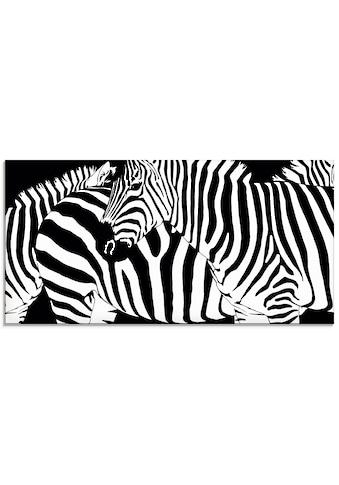 Artland Glasbild »Zebrastreifen« kaufen