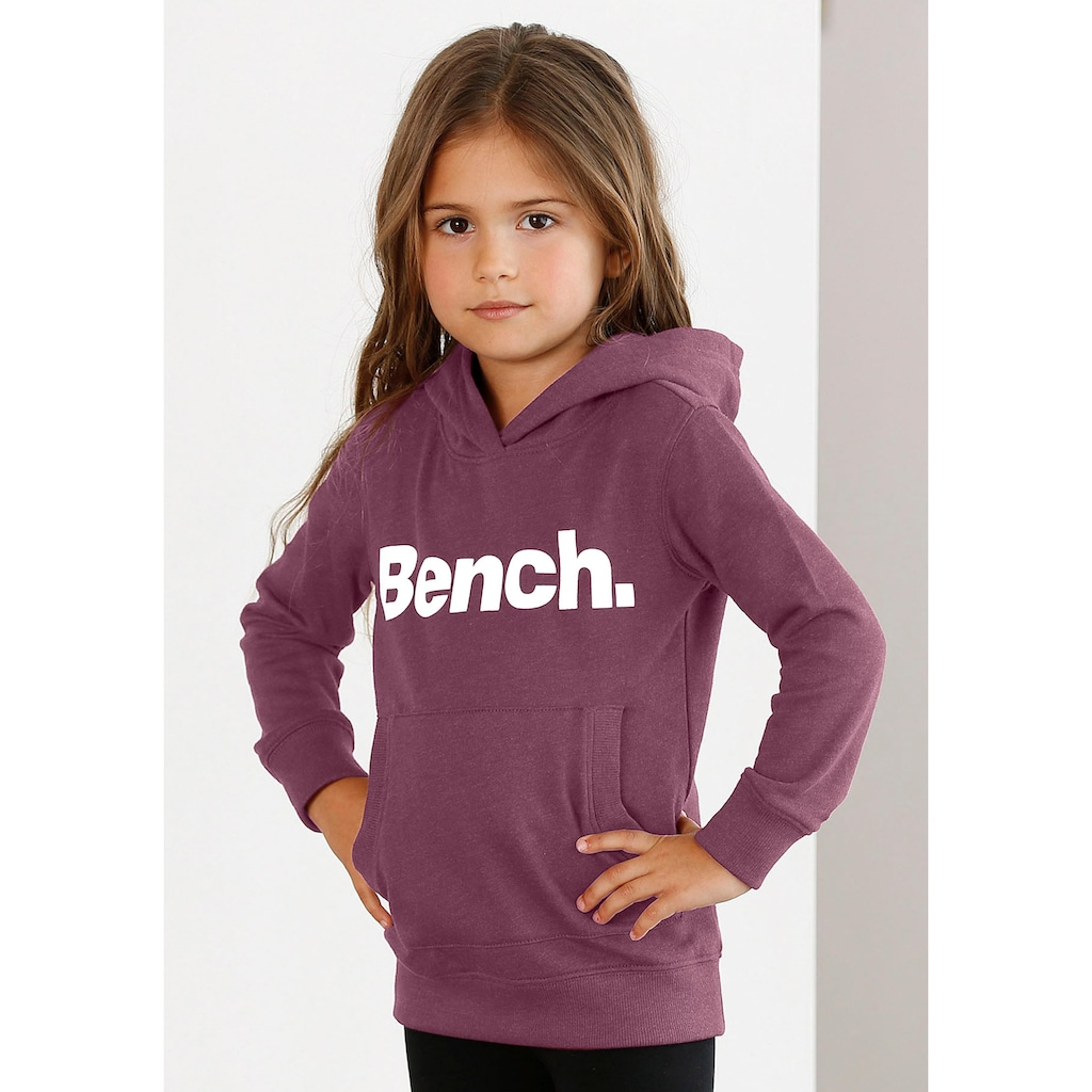 Bench. Kapuzensweatshirt, mit BENCH-Druck