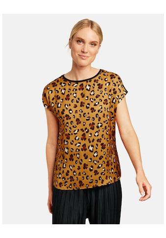 Taifun T - Shirt Kurzarm Rundhals »Shirt mit Animal - Print« kaufen
