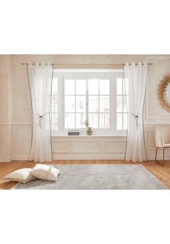 Gardine, »Mira«, Guido Maria Kretschmer Home&Living, Ösen 1 Stück kaufen