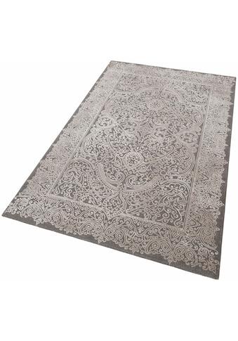 merinos Teppich »Naomi«, rechteckig, 12 mm Höhe, Vintage Design, Hoch-Tief-Effekt, Wohnzimmer kaufen