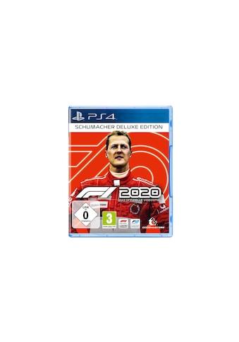 Spiel »F1 2020 - Schumacher Deluxe Edition«, PlayStation 4, Standard Edition kaufen