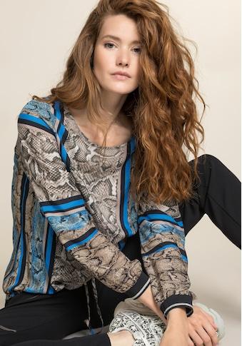 bianca Schlupfbluse »ANRA«, mit coolem Snake-und Streifen Design kaufen