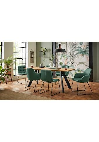 Premium collection by Home affaire Armlehnstuhl »Lester«, im 2er Set kaufen