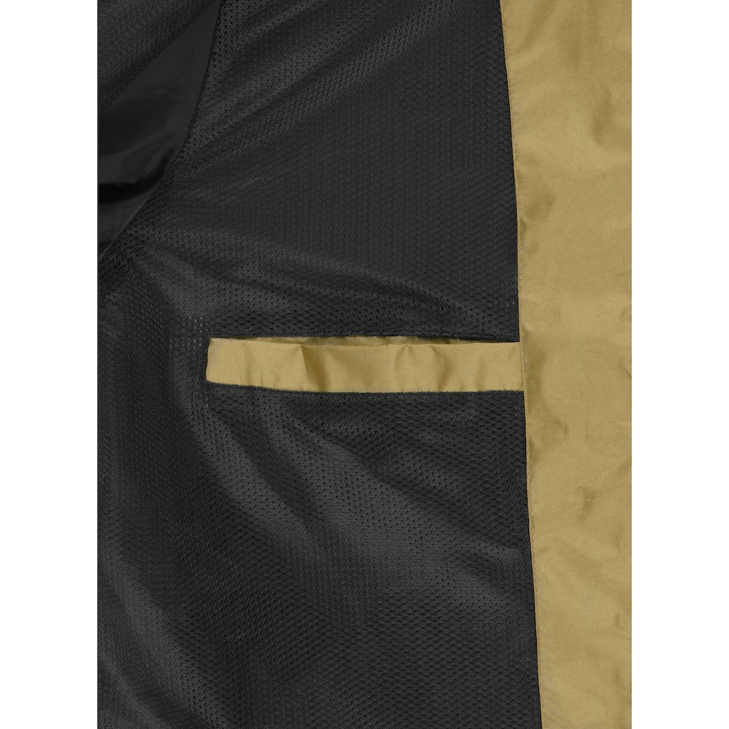 Blend Windbreaker »Mats«, Übergangsjacke mit kontrastfarbenen Reissverschlüssen