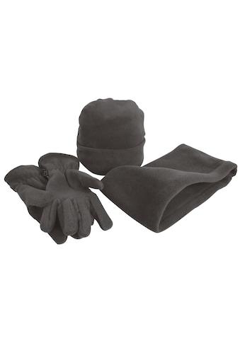 Result Strickmütze »Unisex Active Fleece Winter-Set mit Mütze, Handschuhen und Halswärmer, Anti-Pilling« kaufen