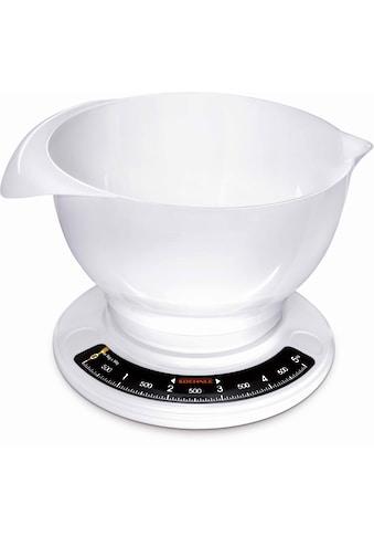 Soehnle Küchenwaage »Culina Pro«, (2 tlg.), mit grosser Rührschüssel kaufen