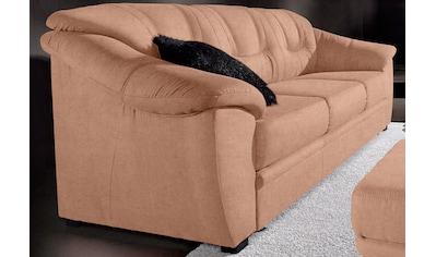sit&more 3-Sitzer, inklusive komfortablem Federkern, wahlweise mit Bettfunktion kaufen