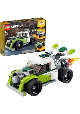 "LEGO® Konstruktionsspielsteine ""Raketen - Truck (31103), LEGO® Creator"", Kunststoff, (198 - tlg.) acheter"