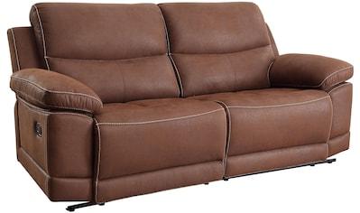 Home affaire 3-Sitzer »Molly«, mit Federkern-Polsterung und einer Relaxfunktion kaufen