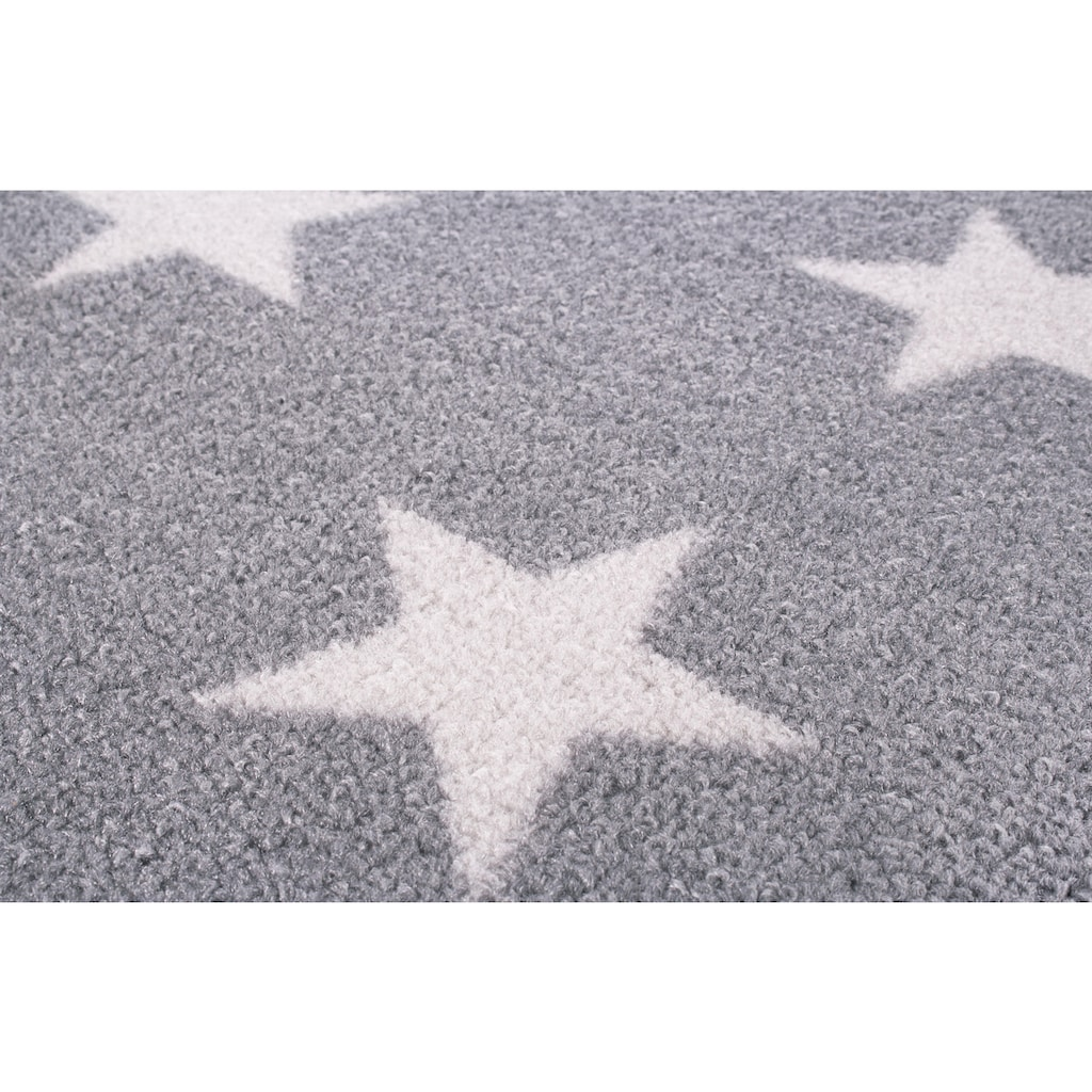 Andiamo Teppich »Sternenhimmel«, rechteckig, 5 mm Höhe, Motiv Sterne