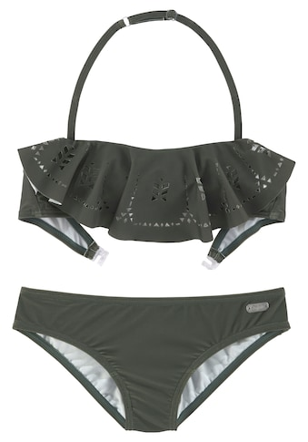 Buffalo Bandeau-Bikini, mit modischem Volant kaufen