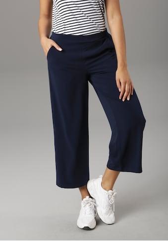 Aniston SELECTED Culotte, mit Gummizug am hinteren Bund - NEUE KOLLEKTION kaufen