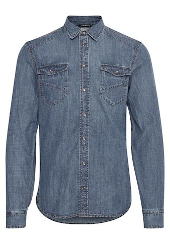 Blend Jeanshemd »Mit praktischen Druckknöpfen« kaufen