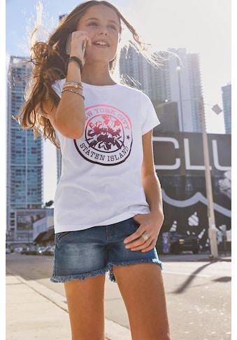 KIDSWORLD T-Shirt »New York«, Druck im Farbverlauf kaufen