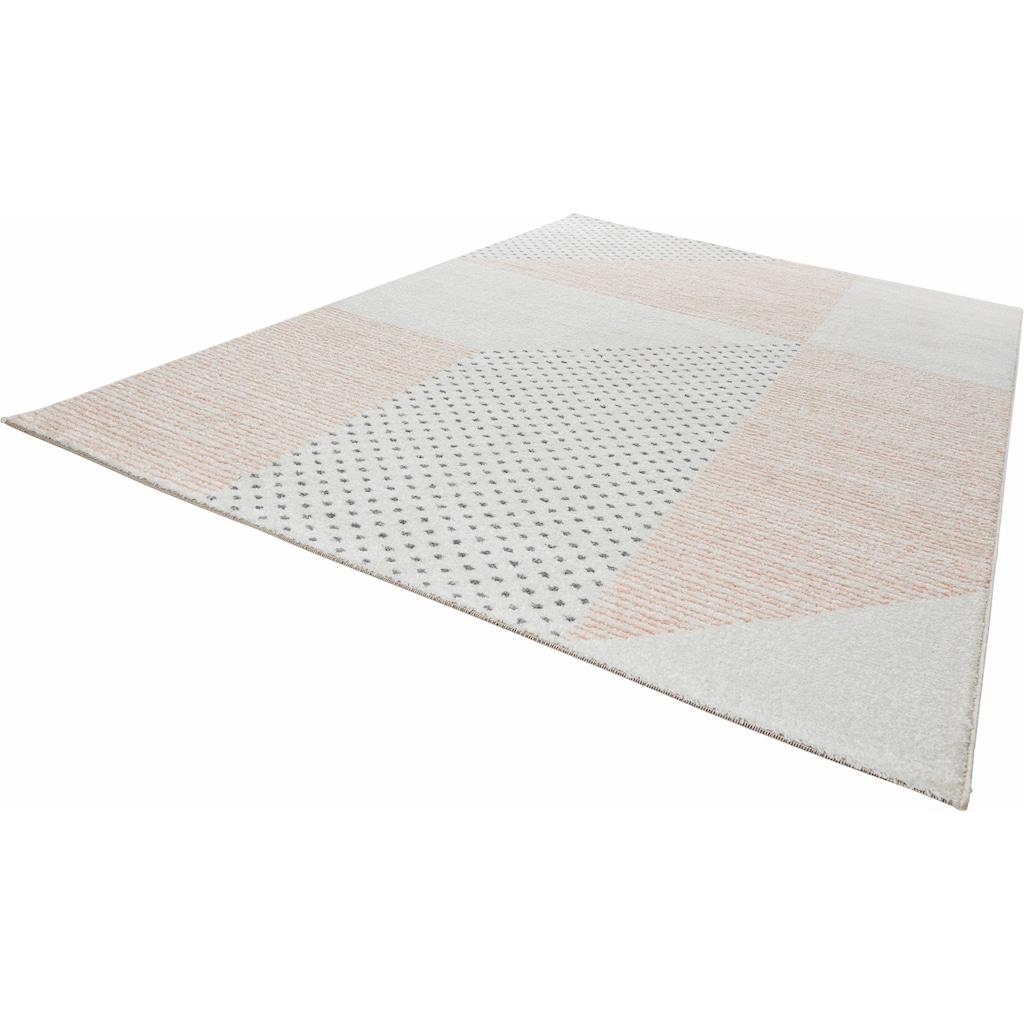 MINT RUGS Teppich »Glaze«, rechteckig, 9 mm Höhe, Velours, Wohnzimmer