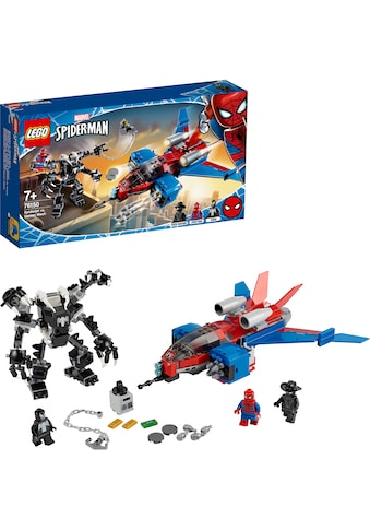 "LEGO® Konstruktionsspielsteine ""Spiderjet vs. Venom Mech (76150), LEGO® Marvel Super Heroes"", (371 - tlg.) kaufen"