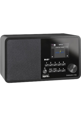 IMPERIAL Internet-Radio »Dabman i150 Schwarz«, (WLAN Digitalradio (DAB+)-Internetradio-FM-Tuner ) kaufen