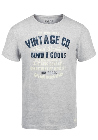 Blend Rundhalsshirt »Vadim«, Kurzarmshirt mit Front-Print kaufen