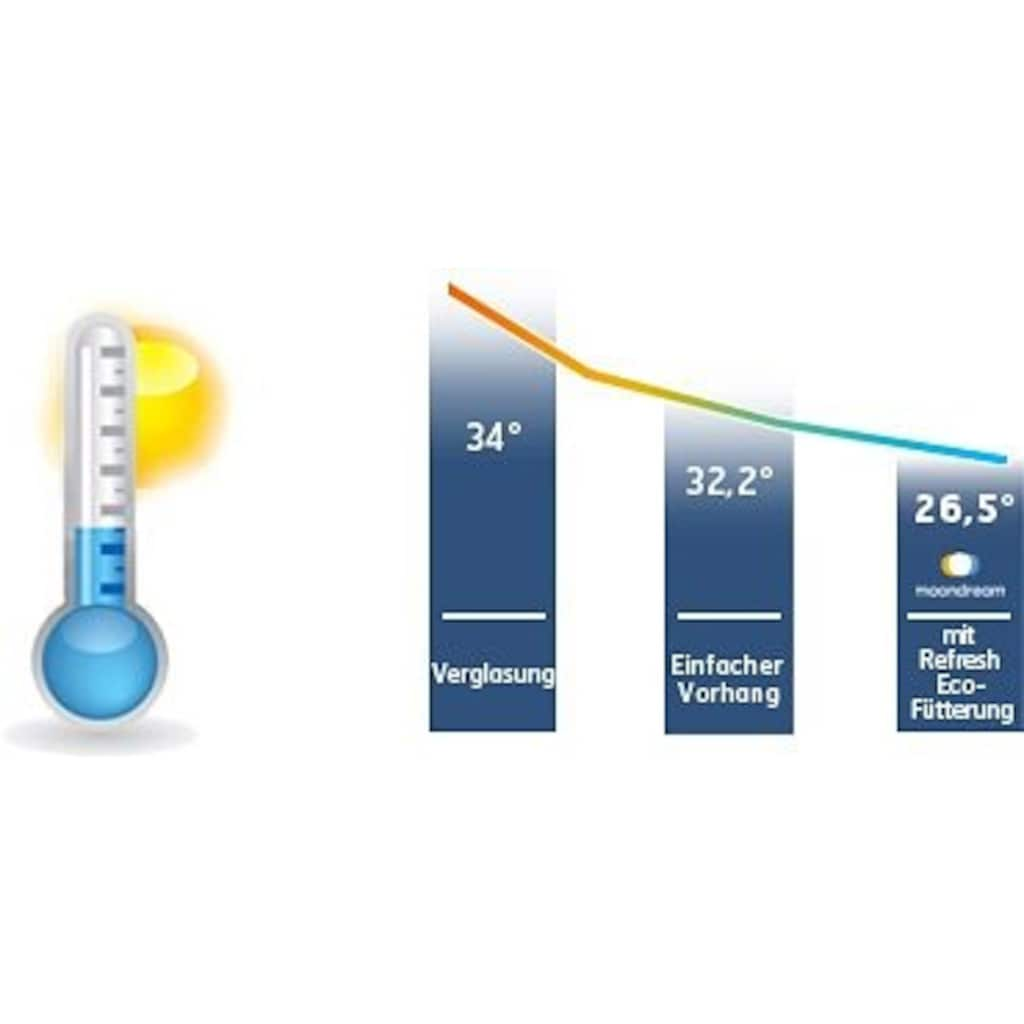 Moondream Vorhang »Thermal Black out«, HxB: 260x145, mit Energiespareffekt, Verdunkelungs, Dim Out