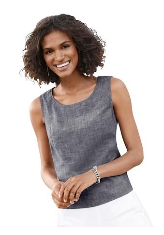 Casual Looks Blusentop aus reiner Baumwolle kaufen