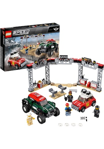 "LEGO® Konstruktionsspielsteine ""Rallyeauto 1967 Mini Cooper S und Buggy 2018 Mini John Cooper Works (75894), LEGO® Speed Champions"", Kunststoff, (481 - tlg.) acheter"