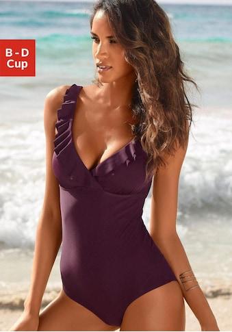 JETTE Badeanzug, mit eleganter Rüsche kaufen