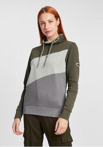 OXMO Hoodie »Agda«, Sweatpullover mit Stehkragen kaufen