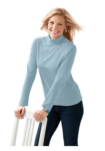 Classic Basics Shirt mit Rollkragen kaufen