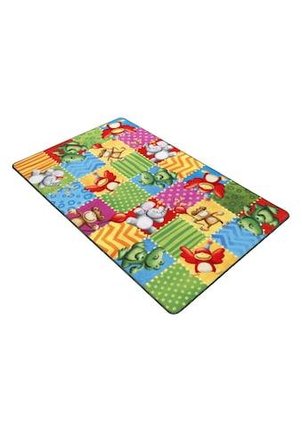 Böing Carpet Fussmatte »Lovely Kids LK-5«, rechteckig, 2 mm Höhe, Schmutzfangmatte,... kaufen