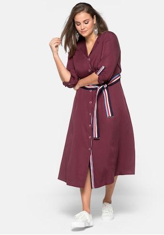 Sheego Blusenkleid, aus Lyocell kaufen