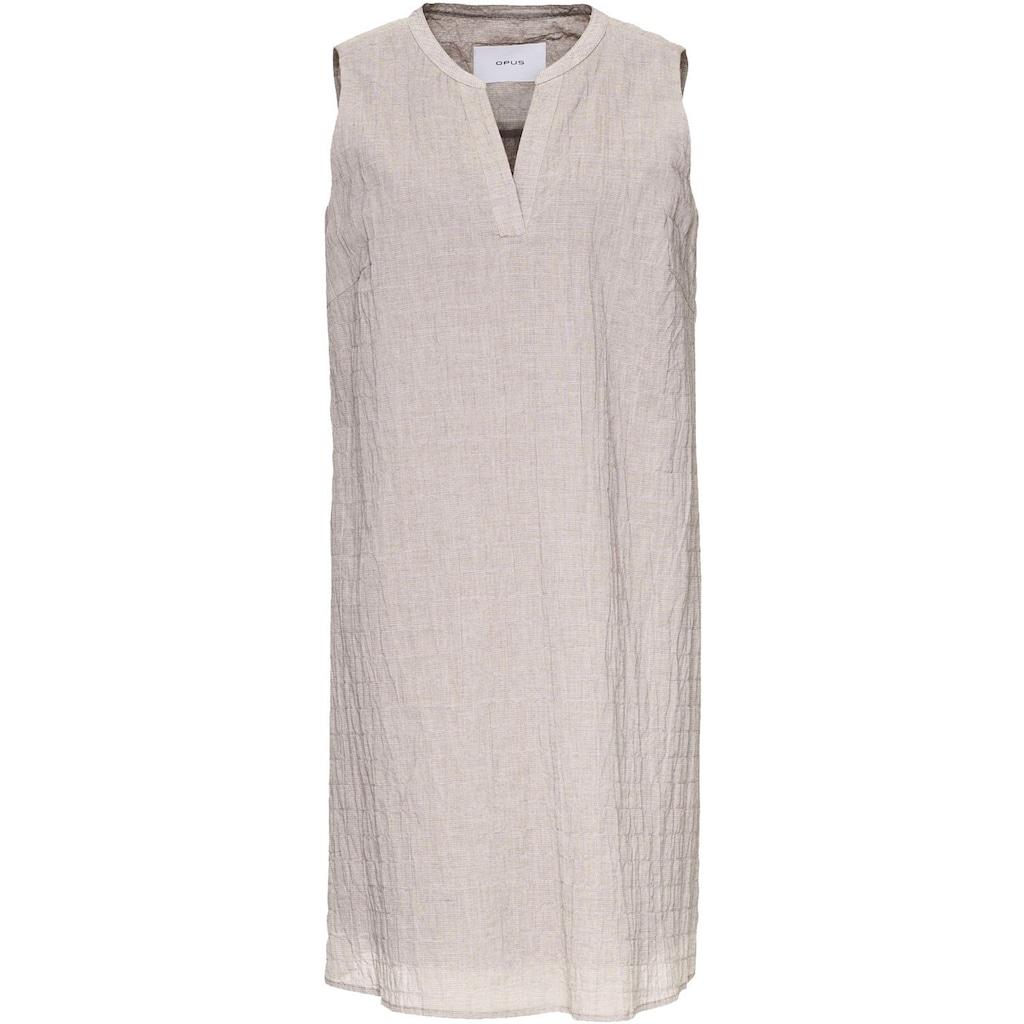 OPUS A-Linien-Kleid »Wibe«, im dezenten Streifen-Look