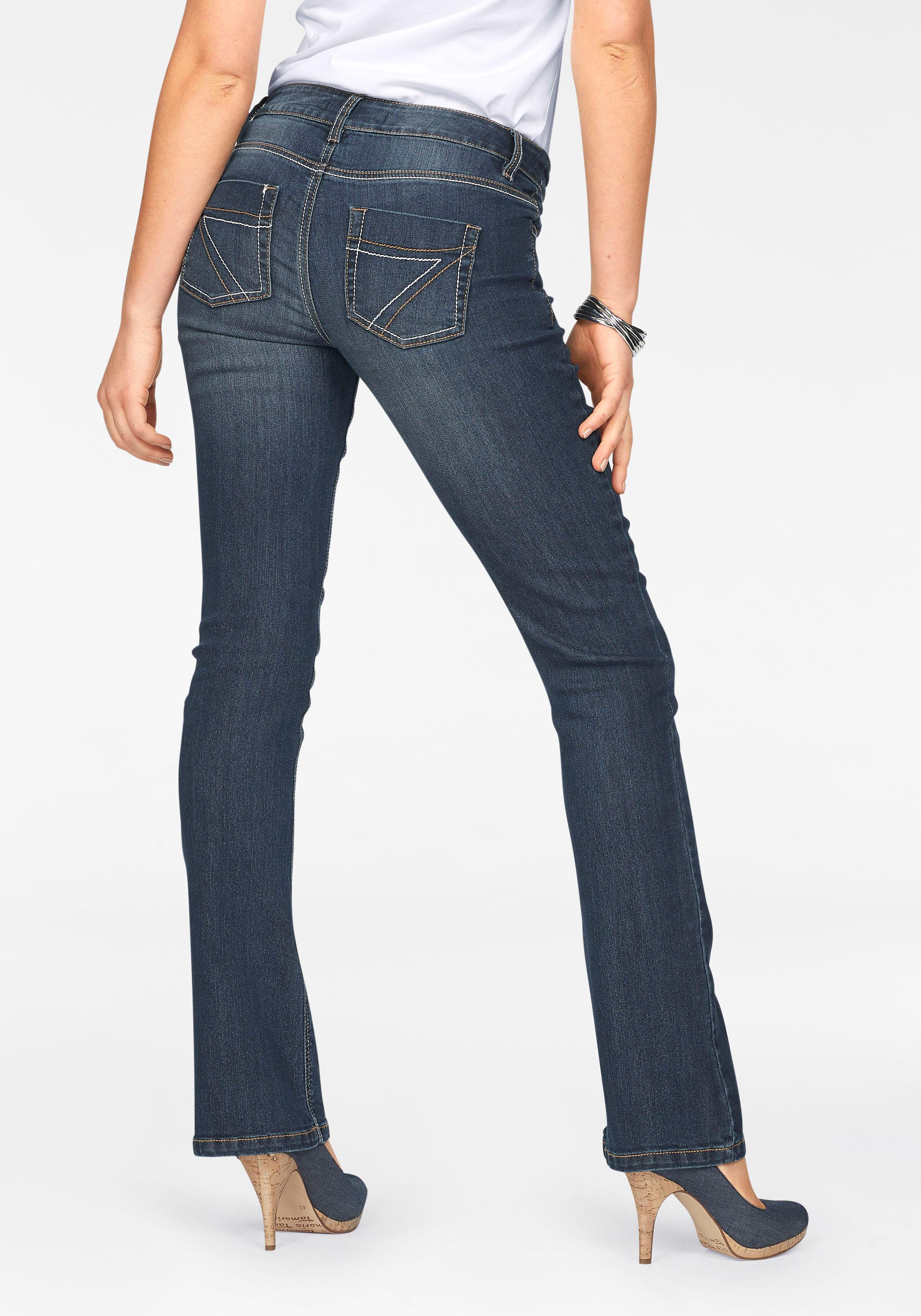 Image of Arizona Bootcut-Jeans »mit Kontrastnähten«