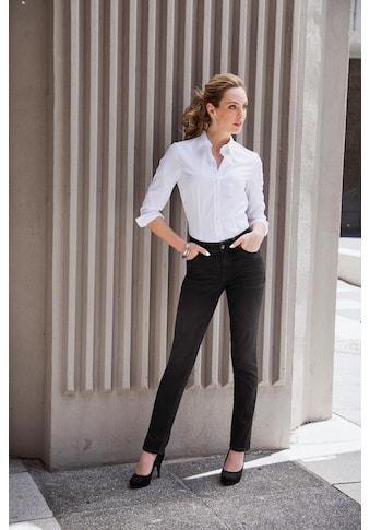 Seidensticker schwarze Rose Klassische Bluse, Basic, lange Ärmel kaufen