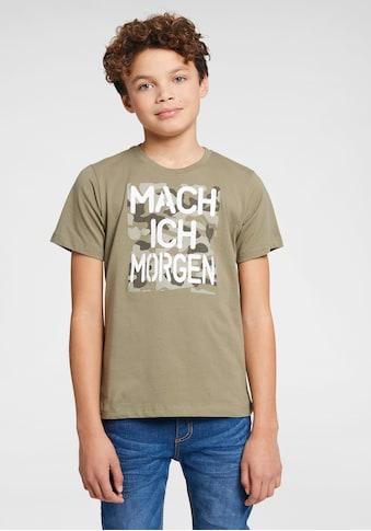 Arizona T - Shirt »Mach ich morgen« acheter